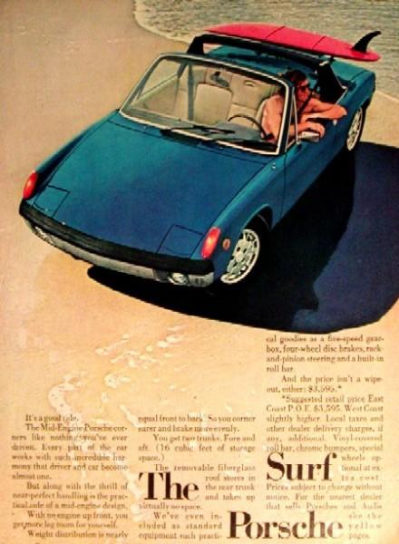 The Surf Porsche