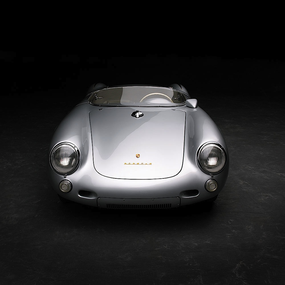 Legendary Porsche Spyders - cover